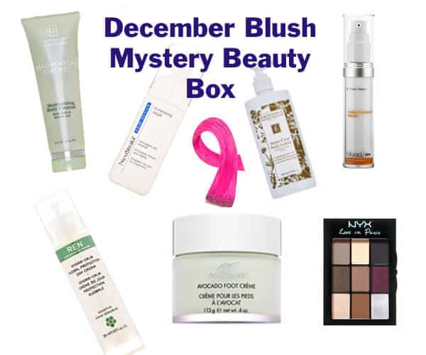 Some of these in the December Blush Mystery Beauty Box will be full